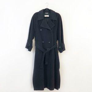 RARE Max Mara Iconic Long Wool Cashmere Coat Sz 8